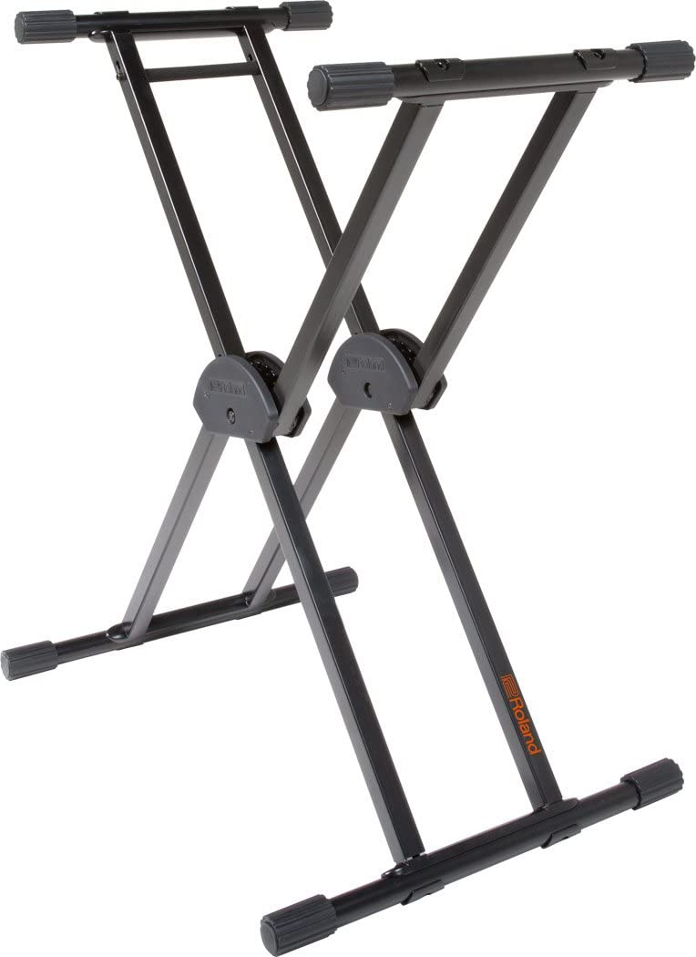 Roland KS-20X Spring Loaded Electronic Keyboard Stand, Double Brace