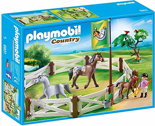 PLAYMOBIL Horse Paddock Building Set