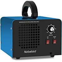 Nobebird ozongenerator luchtreiniger, 28000 mg / u ozon luchtreiniger deodorant met lucht- en waterzuiveringsmodi, 120…