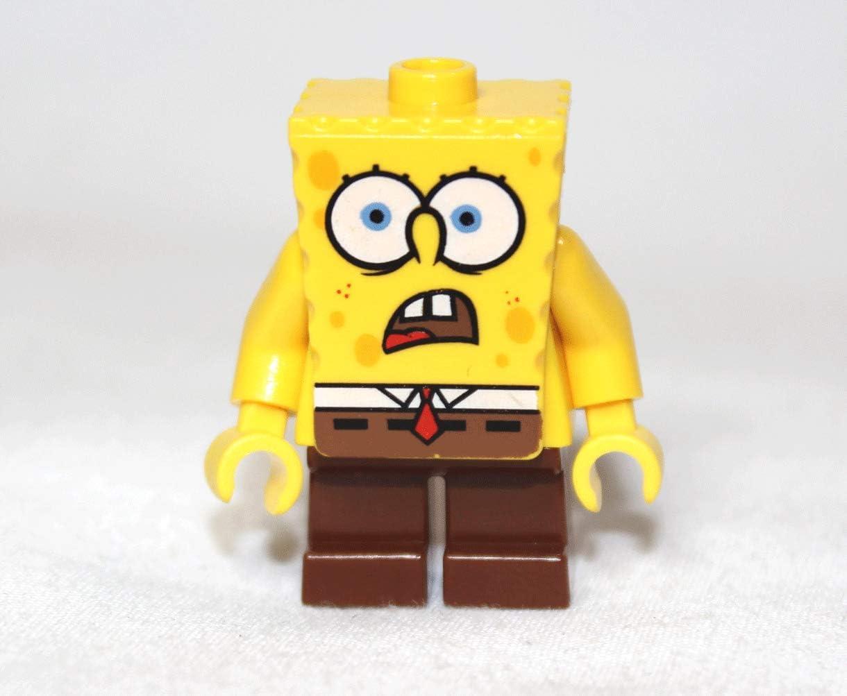 "Spongebob Squarepants (Shocked) - LEGO Spongebob 2"" Figure"