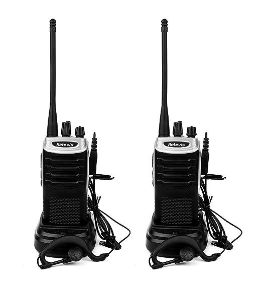 36 opinioni per Retevis RT7 Walkie Talkie Ricetrasmittente UHF 400-470 MHz FM CTCSS/DCS