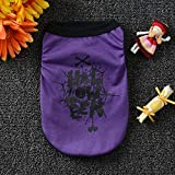 Geetobby New Halloween Pet Dog Vest Clothes Cute Fashion Costume Cool Present