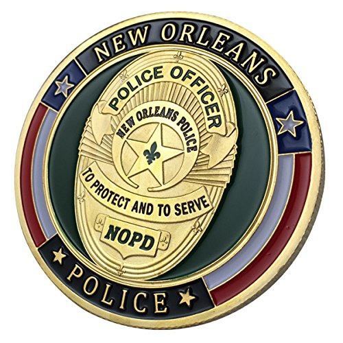 New Orleans Police Department / NOPD G-P Challenge coin 1116#