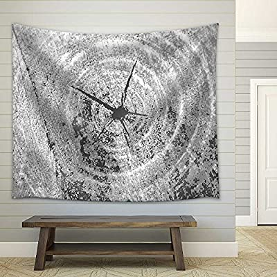 Lovely Handicraft, With Expert Quality, Black and White Brutal Grunge Background Texture Saw Cut of The Wood Fabric Wall