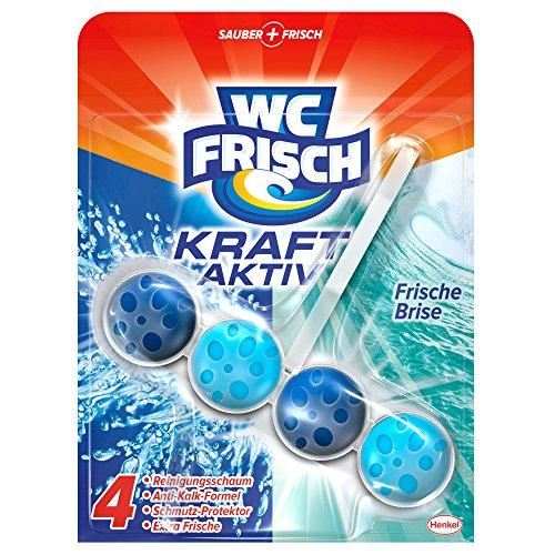 WC Frisch Kraft-Aktiv Duftspüler Frische Brise, WC Frische, 5er Pack (5 x 1 Stück)
