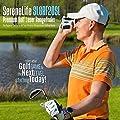 SereneLife Premium Golf Laser Rangefinder with Pinsensor - Digital Golf Distance Meter - Compact Design - with Travel Case from Sound Around