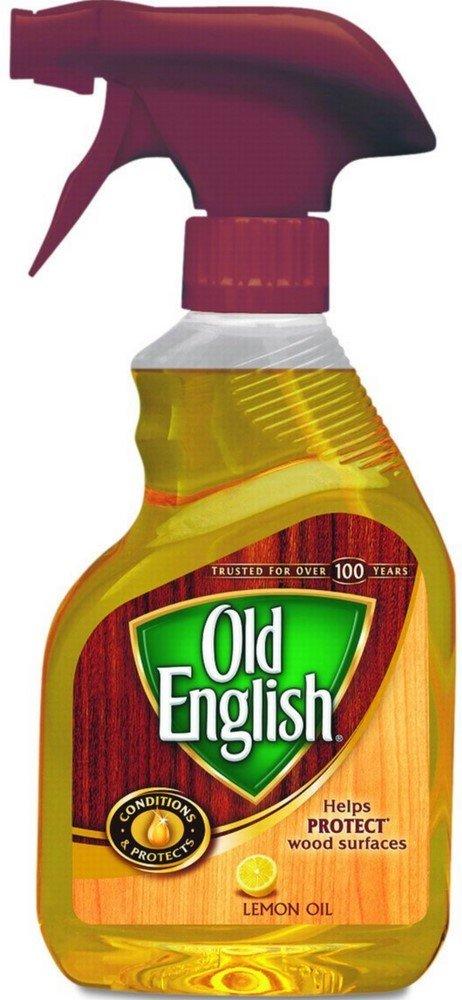 Old English Lemon Oil Furniture Polish, 12 fl oz Bottle (Pack of 5)