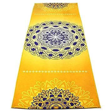 ... Yoga Mandala Toalla Impresa Resbalón Antideslizante Bolsillos De Esquina Sudor Absorbente Pilates Toallas Deportivas: Amazon.es: Deportes y aire libre