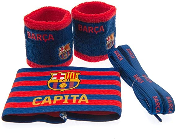 Fc Barcelona - Juego de accesorios de regalo para brazaletes ...