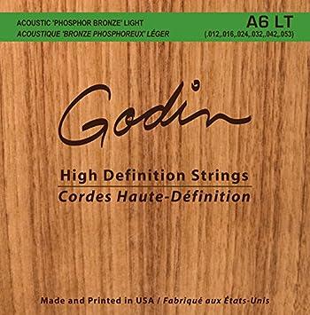 Light Godin Guitars 008995 Seagull A6 LT Phosphor Bronze Acoustic ...