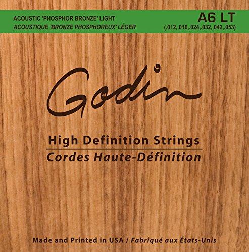 Godin Guitars 008995 Seagull A6 LT Phosphor Bronze Acoustic