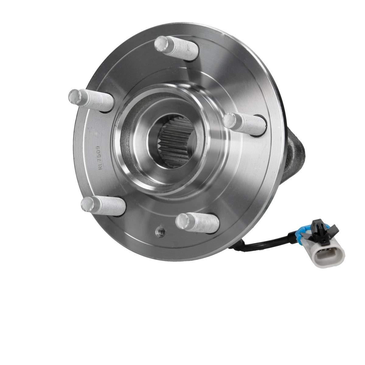 ECD Germany RL7509 Radlagersatz Radlager Satz Radnabe mit ABS-Sensor vorne VA 5-Loch Felge