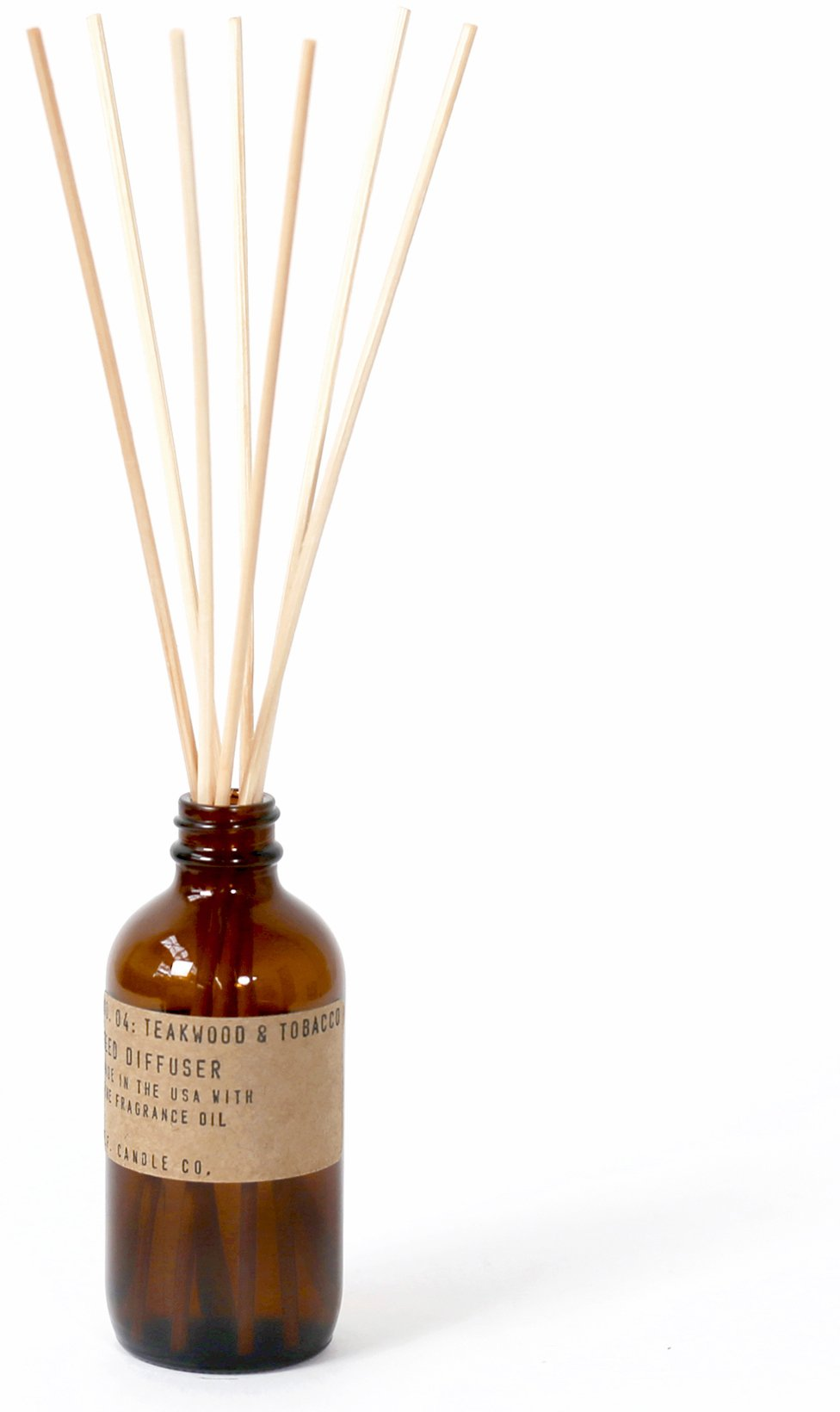 P.F. Candle Co. - No. 04: Teakwood & Tobacco Diffuser by P.F. Candle Co.