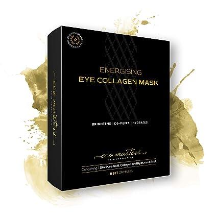 Gold Collagen Eye Mask - Mascarrilla de Oro Para Los Ojos - Reduce El Hinchazón y