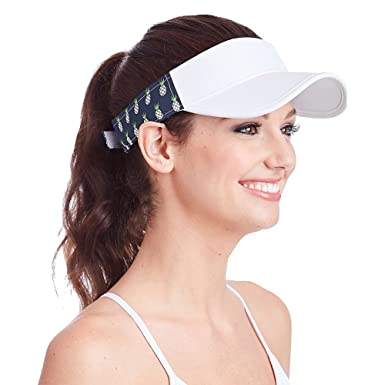 554e61454c9 Ame   Lulu Head in the Game Visor (One Size - Pineapple) at Amazon ...