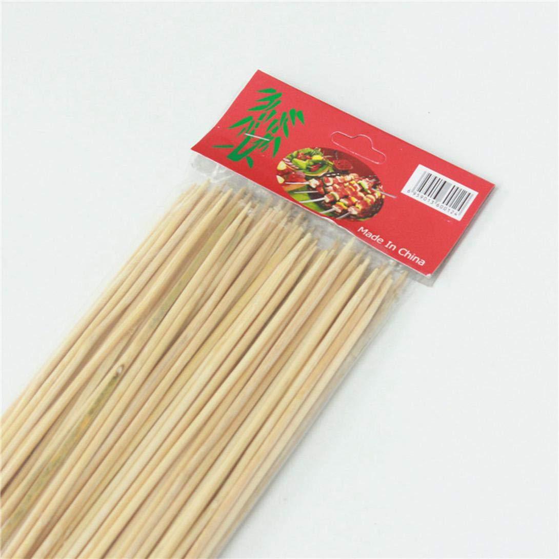 80 St/ück//Pack f/ür Dekoration zu Hause Marshmallow-Bratst/äbchen Random Style Holzspie/ße 30 x 3 mm ngshanquzhuyu Einweg-Grill-Utensilien aus nat/ürlichem Bambus