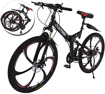 26 inch Mountain Bike for Men and Women Lightweight 24-Speed MTB Road Bicycle with Double Disc Brake
