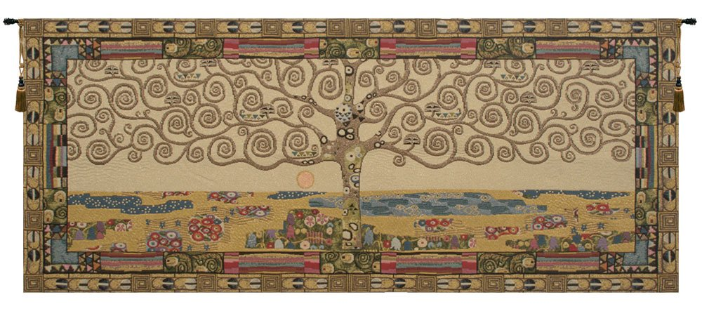 Tree of Life, Klimt Italian Tapestry Wallhanging