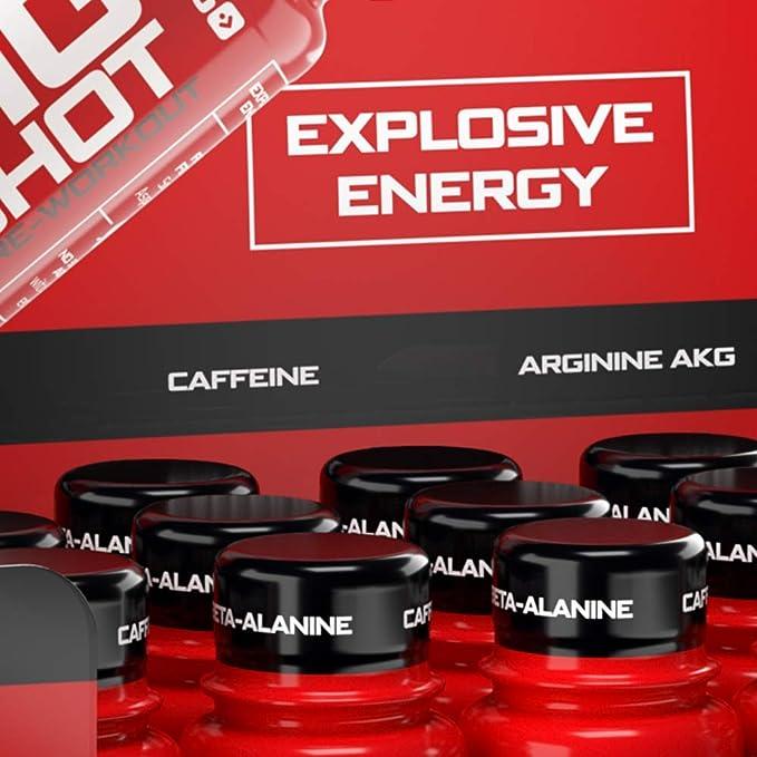 Prozis Big Shot, Sabor Flash Cola - 12 Unidades de 60 ml