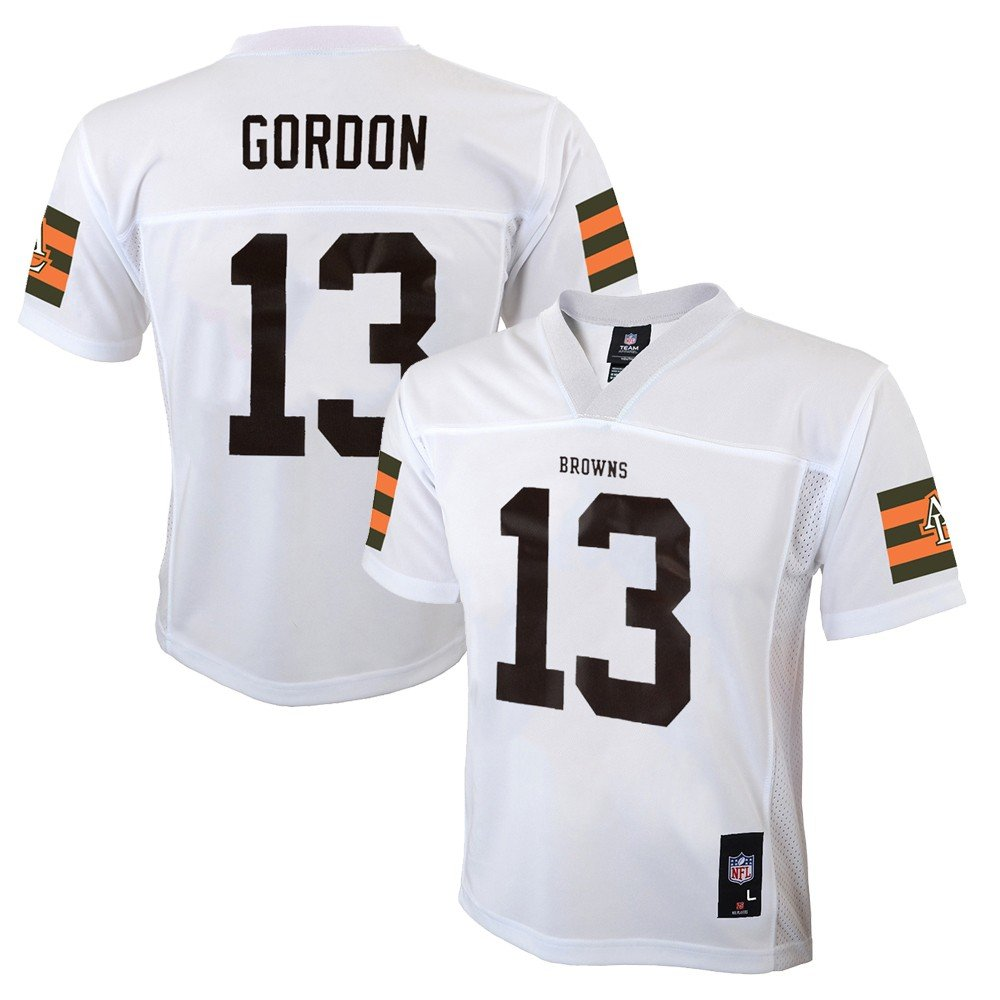 release date 75b05 7177f Amazon.com : Outerstuff Josh Gordon NFL Cleveland Browns Mid ...