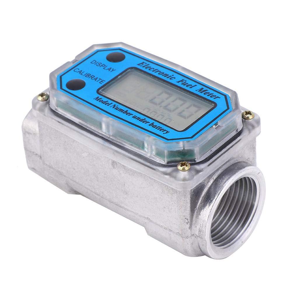1Npt BLUE D/ébitm/ètre Mini-D/ébitm/ètre /à Turbine Num/érique De Haute Pr/écision 15-120L
