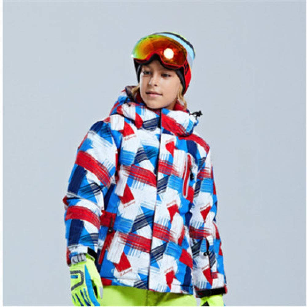 SZXJY Traje de esquí,Chaqueta de esquí para niños Traje de ...