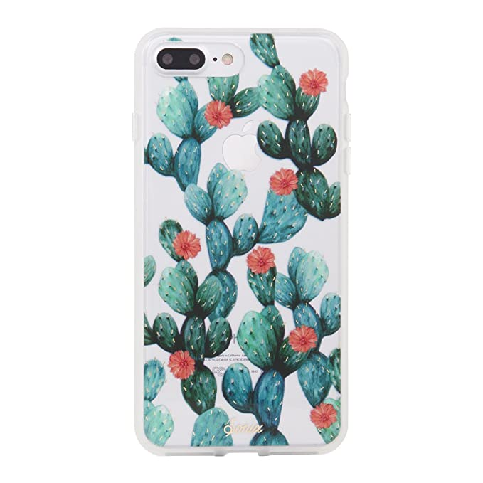 best website ebefd d4219 Sonix Agave (Cactus) Cell Phone Case [Military Drop Test Certified] Clear  Case for Apple (5.5