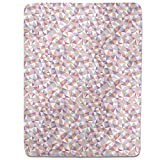 Mosaic Melancholy Fitted Sheet: King Luxury Microfiber, Soft, Breathable