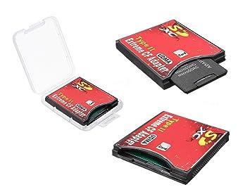 Adaptador para tarjeta SDXC, SDHC, SD 3.0, a UDMA CF, de ...