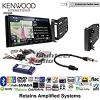 Volunteer Audio Kenwood Excelon DNX994S Double Din Radio Install Kit with GPS Navigation Apple CarPlay Android Auto Fits 2009-2010 Ram 2011-2014 Chrysler 200