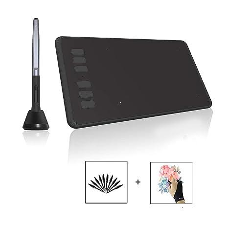 Amazon com: Huion INSPIROY H640P Digital Graphics Drawing