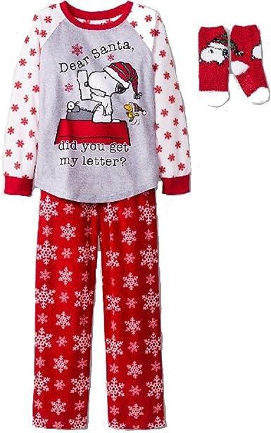 Peanuts Snoopy Girls Pink Poly Nighty Pyjamas