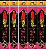 日本伝統の癒しの炎 純国産 線香花火 40本(5袋)[1袋8本入り]
