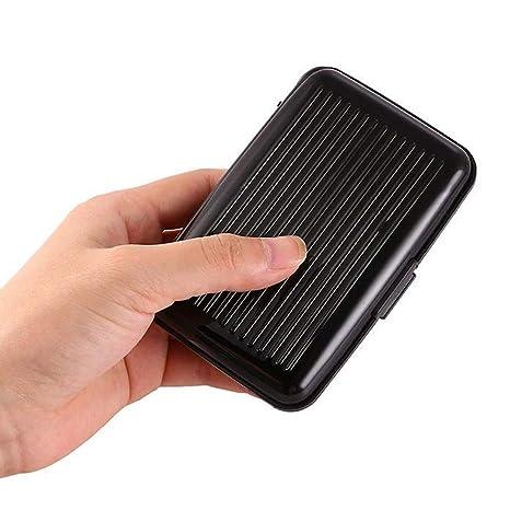 Amazon.com: Cartera de tarjeta de crédito – Funda de ...