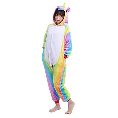 viele Stile Sonderkauf am besten bewerteten neuesten dPois dPois Kinder Pyjama Set Plüsch Schlafanzug Ganzkörper ...