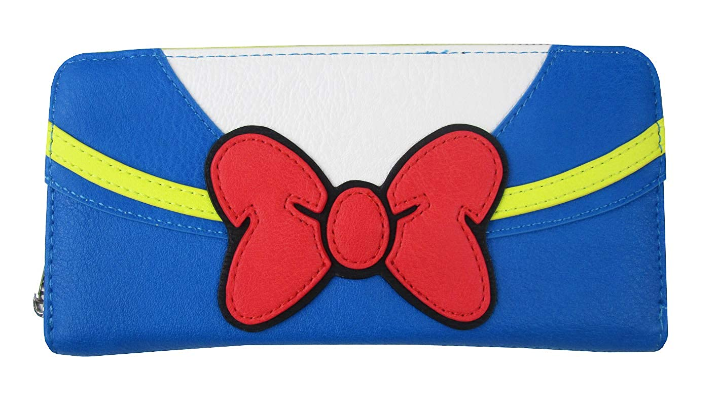 Loungefly x Disney Donald Duck Zip-Around Wallet One Size)