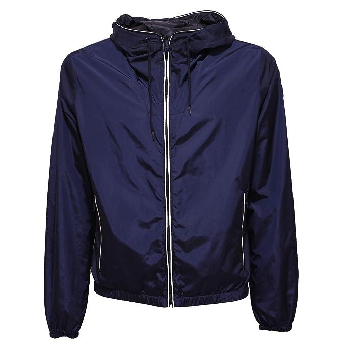 Fay 8119X Giubbotto Antivento Uomo Blue Windstopper Jacket