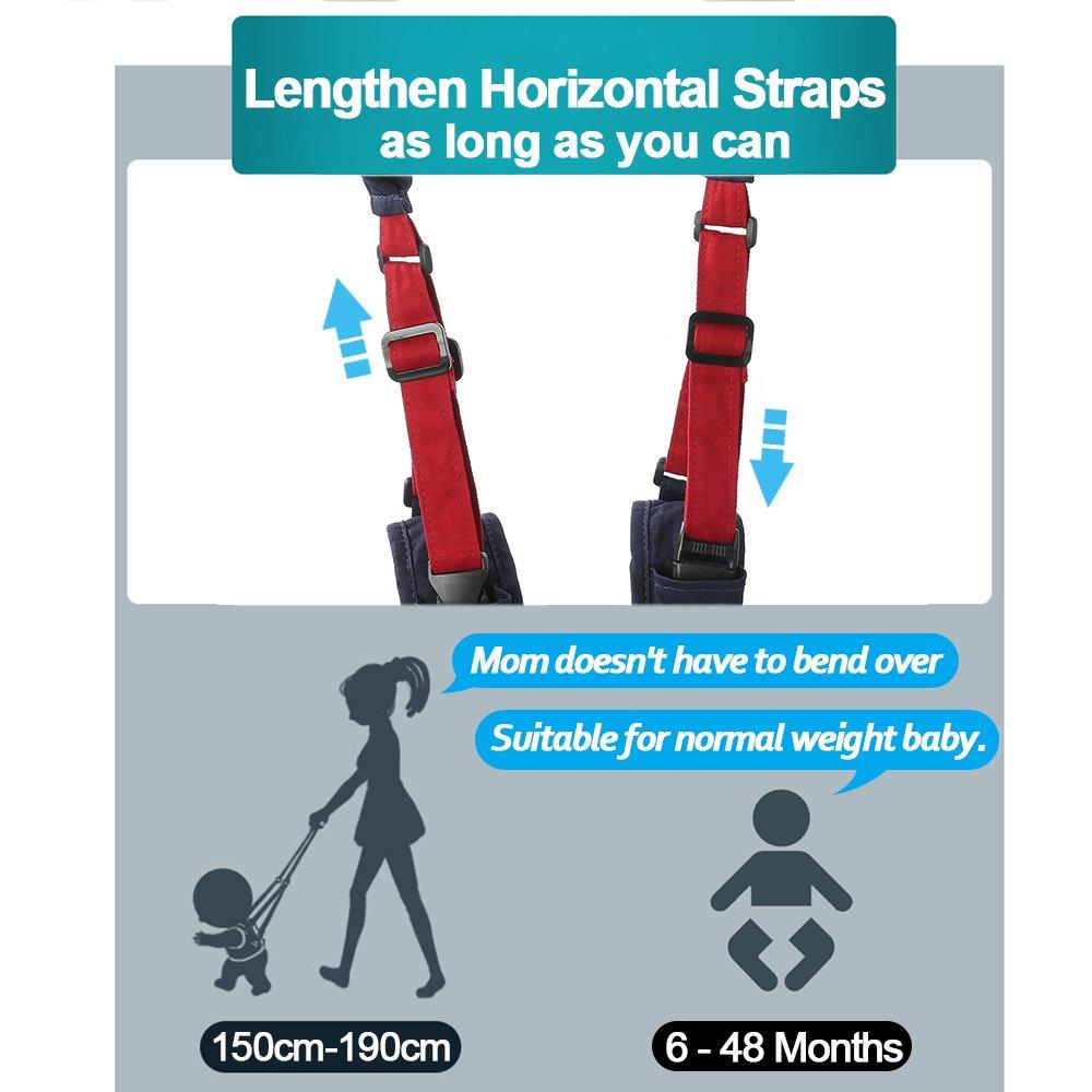 Amazon.com: Lungeo - Asistente de caminata para bebé, de ...