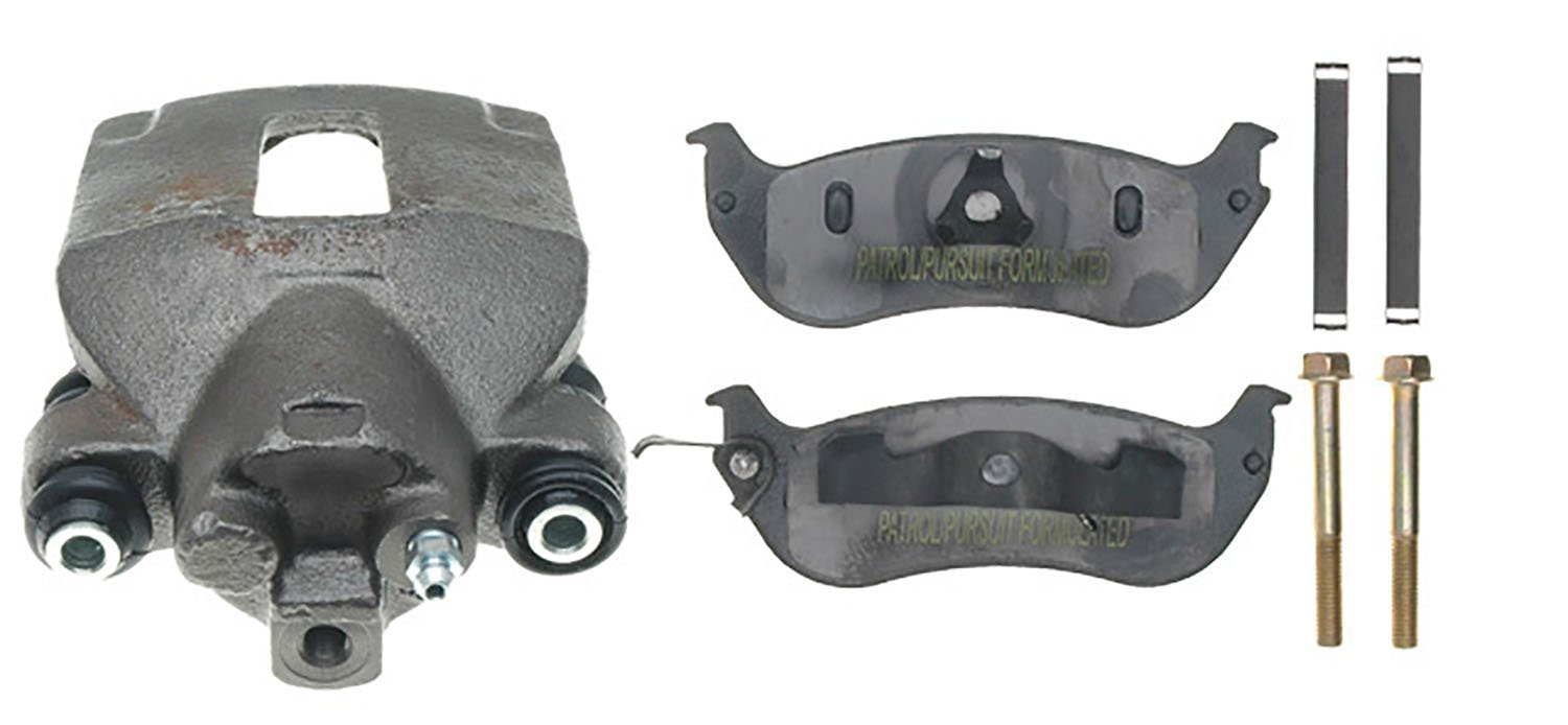 ACDelco 18R1367PV Specialty Rear Disc Brake Caliper Assembly with Pads Loaded Remanufactured