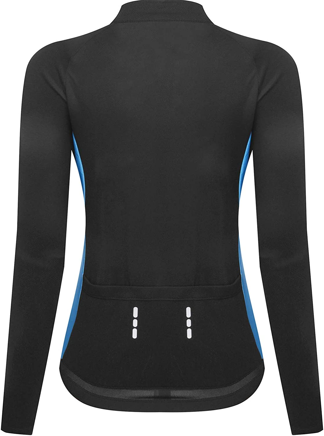 NOOYME Womens Wicking Cycling Jersey with Three Back Pockets