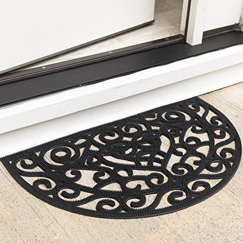 (Ottomanson RDM9600-18X30 Rubber Doormat, 18