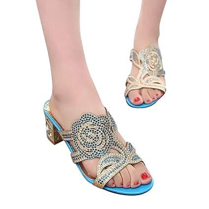 928dcf08d4506 Amazon.com: Sandals for Women Bummyo Flip Flop Wedges Slippers ...