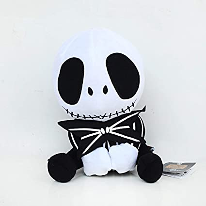Image Unavailable. Image not available for. Color  CHITOP The Nightmare  Before Christmas -Jack Skellington Plush Toys Doll Skull Jake Plush Stuffed  Toys 588a3405ee