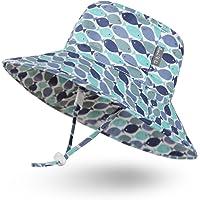 Ami & Li tots Niño Sombrero de Sol Bob Ajustable para Bebé Niña Niño Infantil Niños Pequeños Sombrero Protección Solar…