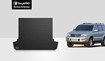 2008 2004 - Black Rubber 2003 2009 ToughPRO Cargo//Trunk Mat Compatible with Toyota 4Runner Heavy Duty - Made in USA All Weather 2007 2005 2006