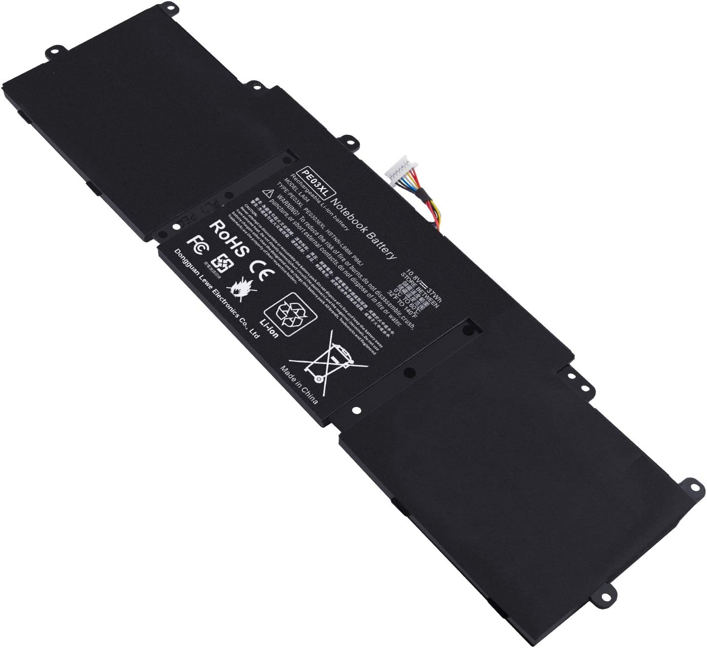 PE03 Battery for HP Chromebook 11 G3 G4 N2830 N2840 210 G1 N1C10UA N6R26AA Replace with hp Spare 766801-421 766801-851 767068-005 HSTNN-PB6J HSTNN-LB6M