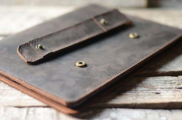 outlet store 45989 3074b Amazon.com: Handmade Genuine Italy leather ipad pro 12.9 case ...