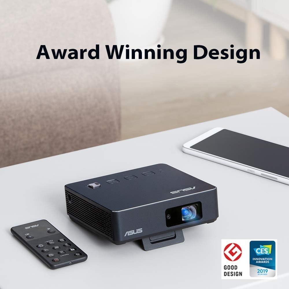 ASUS ZenBeam S2 Portable Projector LED 500 Lumens 720p USB-C HDMI 6000mAh Battery