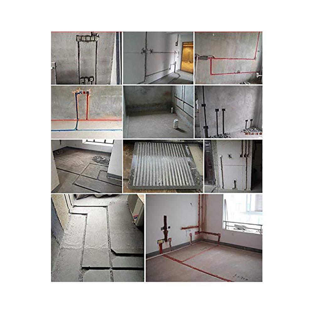 ETE ETMATE Wandnut-Schneidemaschine 4000W elektrische Wand-Strehler-Nut-Schneidemaschine industrielle Nut-Sto/ßmaschine f/ür Ziegelstein-konkreten Granit-Marmor