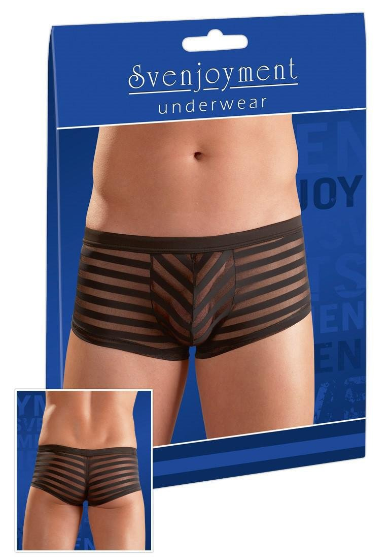 Svenjoyment Underwear 2x große schwarz Cut Boxer kurz 21311531741